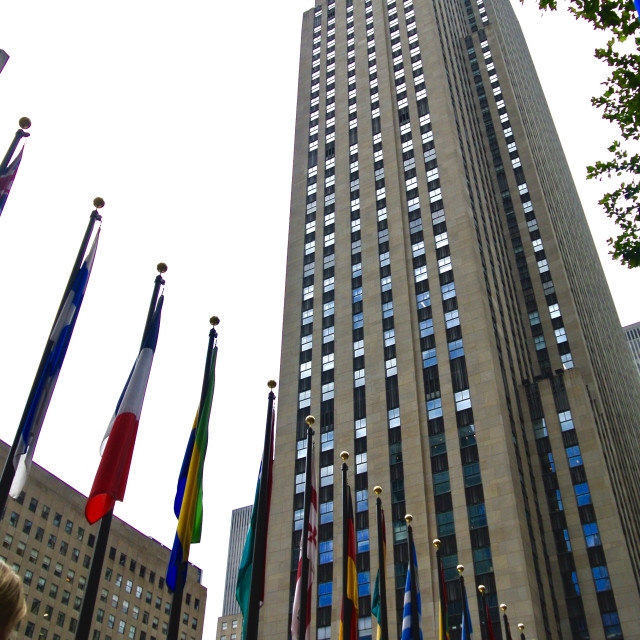 """Rockefeller Centre"" stock image"