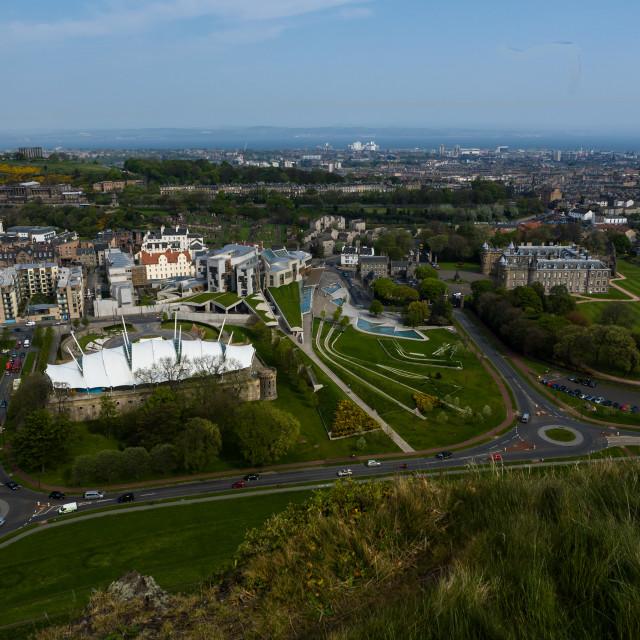 """Scottish Parliament"" stock image"