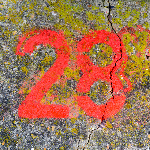 """Red twenty eight"" stock image"
