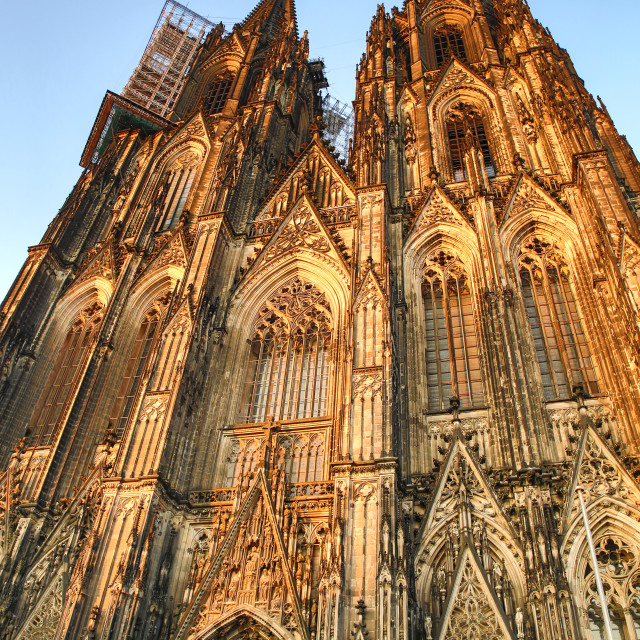 """""""Cathedral of Cologne"""" stock image"""