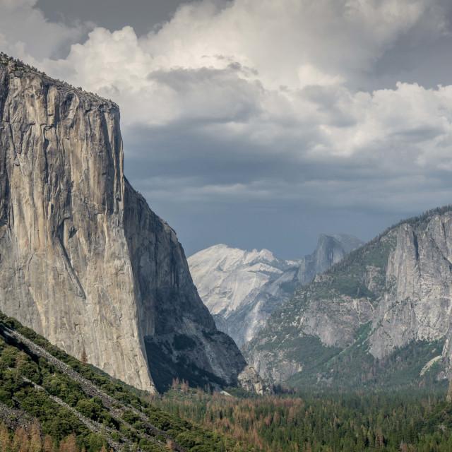 """""""El Capitan, Yosemite"""" stock image"""