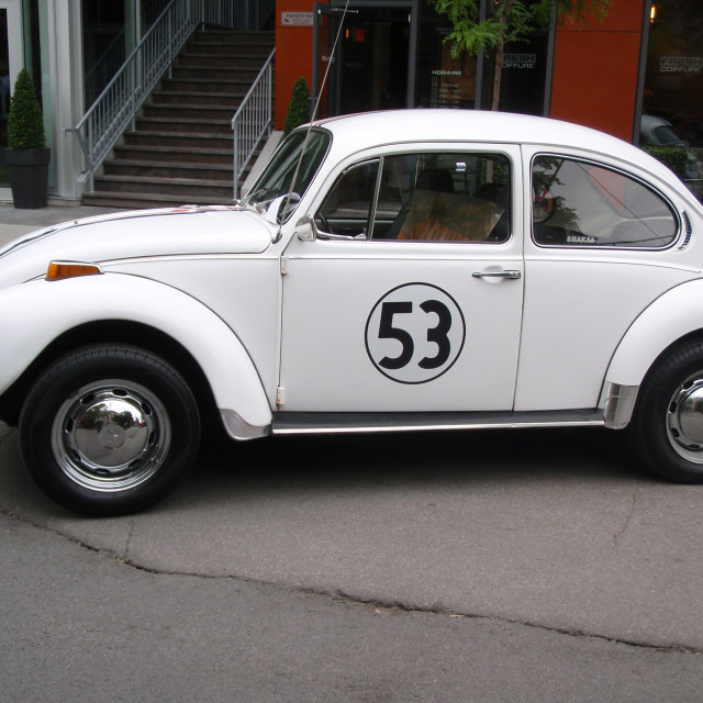 """Herbie (side)"" stock image"
