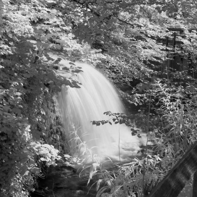 """Waterfall."" stock image"