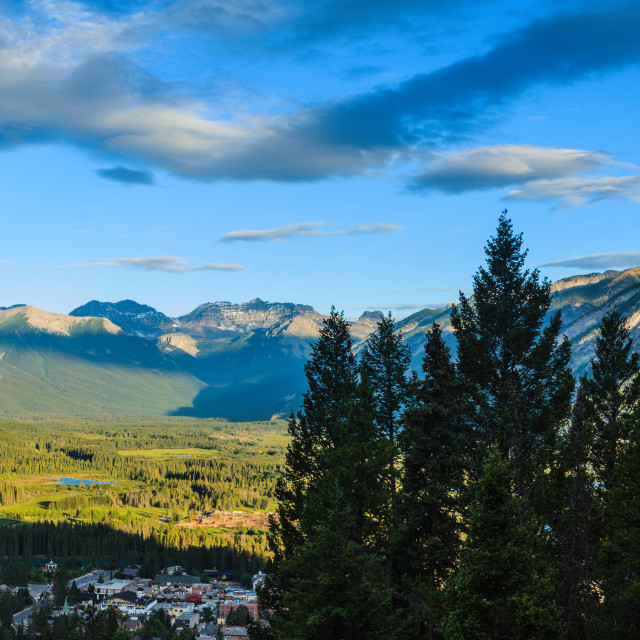 """""""Bow Valley"""" stock image"""