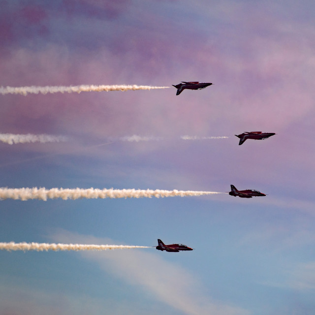 """""""Red Arrows The Clacton Collection 1"""" stock image"""
