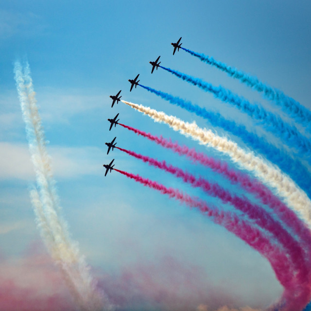"""Red Arrows The Clacton Collection 2"" stock image"