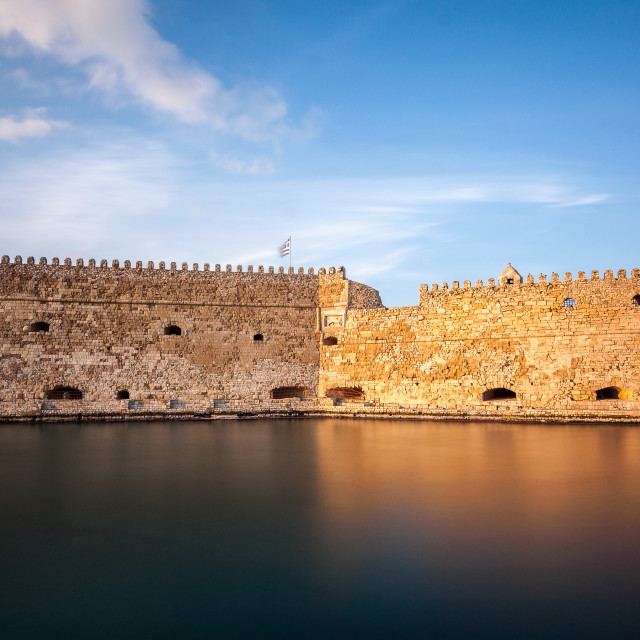 """Koules Fortress"" stock image"