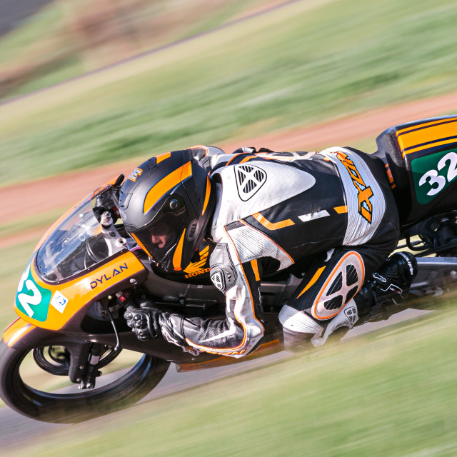"""""""Hartwell Motorcycle Club Championship - Round 5"""" stock image"""