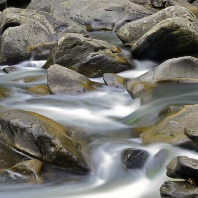 """Rock Creek Rapids"" stock image"