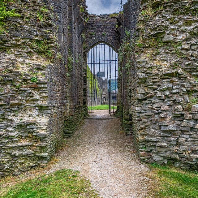 """The North Gatehouse"" stock image"