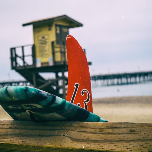 """Surfboard Fin"" stock image"