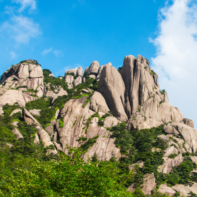 """Huangshan, China"" stock image"