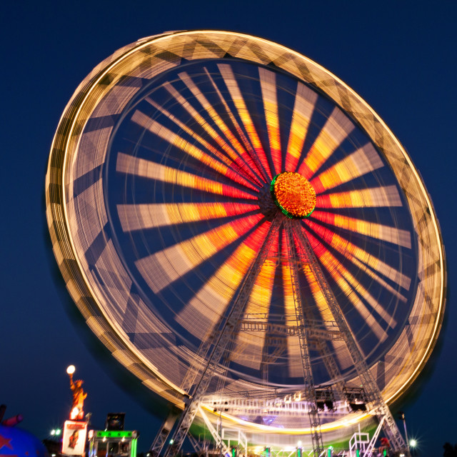 """Summer Nights At The Fair"" stock image"