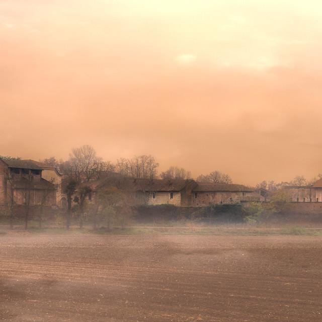 """The fog..."" stock image"