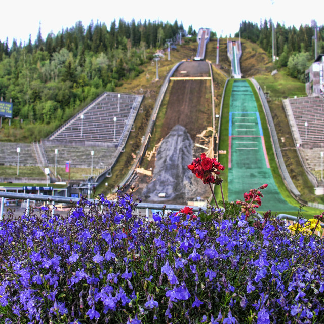 """""""Lillehammer, Norway"""" stock image"""