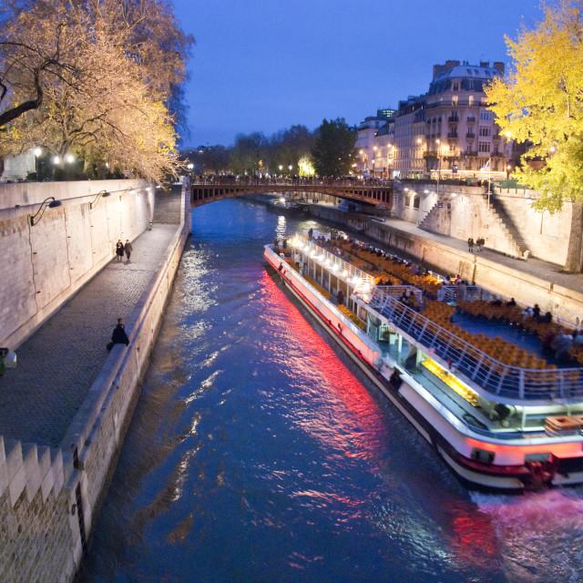 """""""Paris in Winter"""" stock image"""