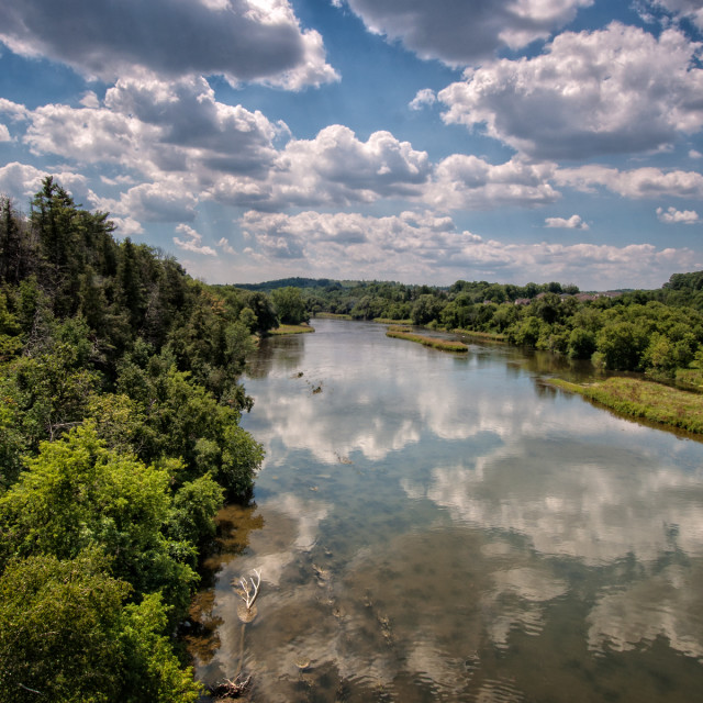 """Grand River"" stock image"