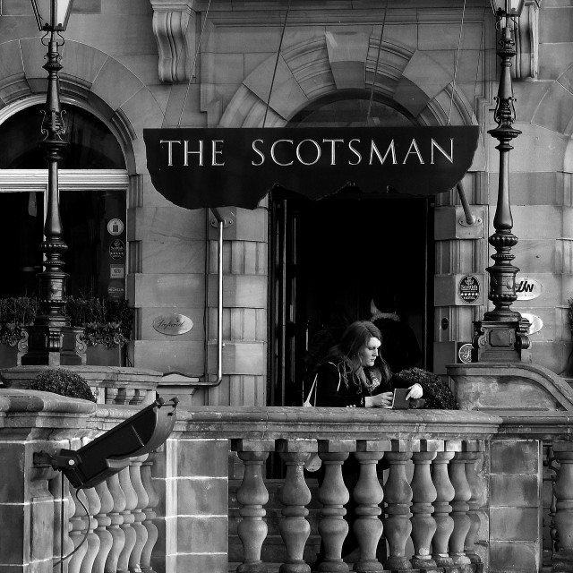 """SCOTSMAN"" stock image"
