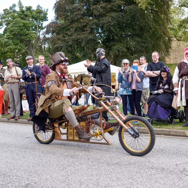 """Steampunk Festival, Lincoln, UK"" stock image"
