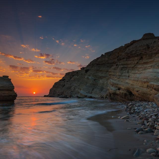 """""""Cavo Paradiso Kos island Greece"""" stock image"""