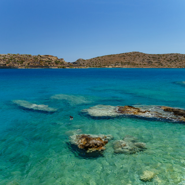 """Spinalonga Island"" stock image"