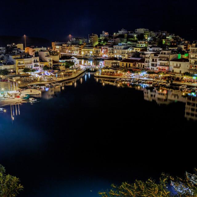 """""""Agios Nikolaos"""" stock image"""