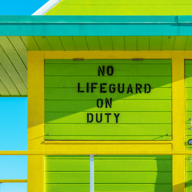 """lifeguard tower :4St:"" stock image"