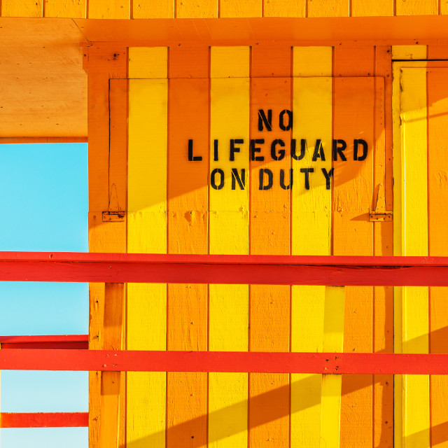 """lifeguard tower :3St:"" stock image"
