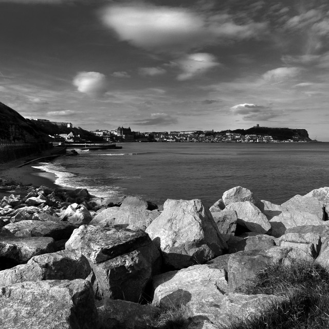 """South Bay Scarborough"" stock image"