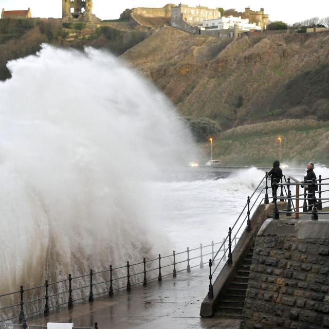 """Huge Waves"" stock image"