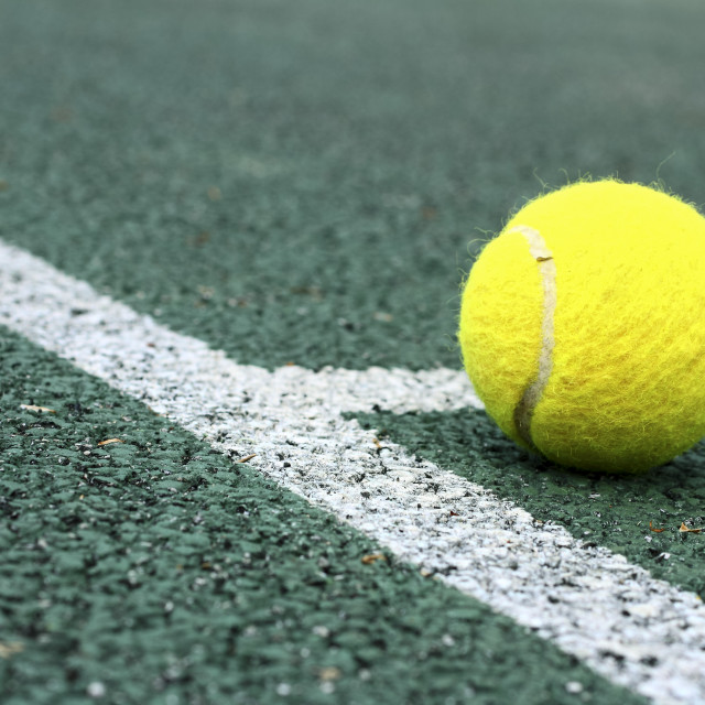 """Tennis court"" stock image"