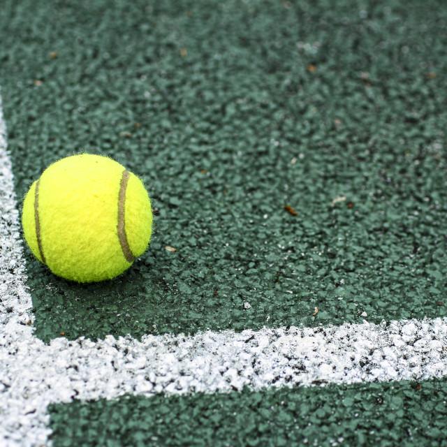 """Tennis court"" stock image"