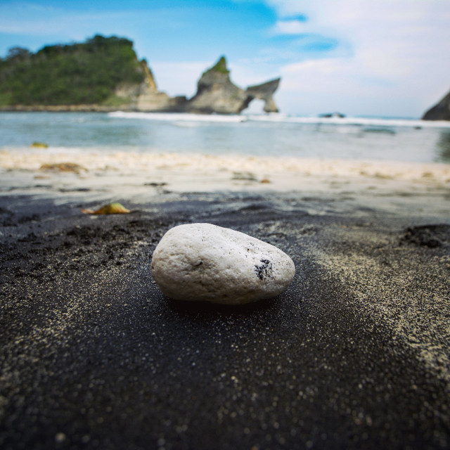 """Beach pebble"" stock image"