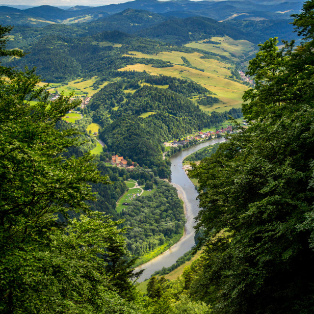 """Hills River"" stock image"