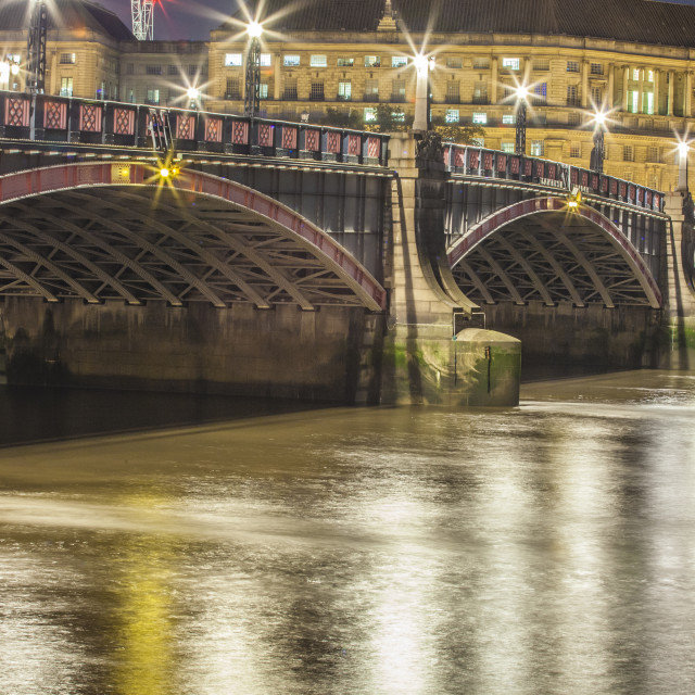 """Lambeth Bridge"" stock image"