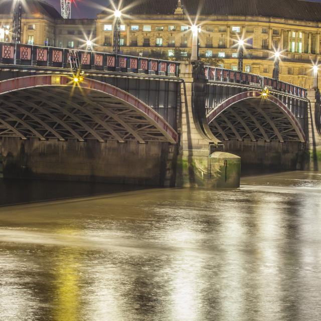 """Lambeth Bridge"" stock image"
