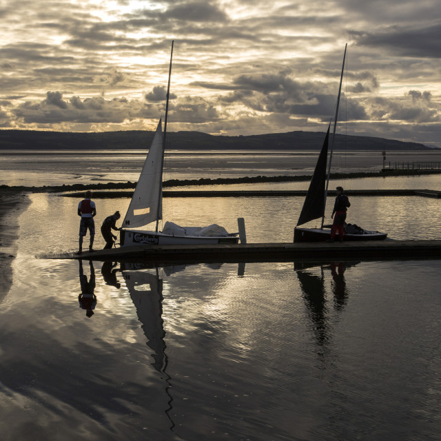 """Summer Sailing"" stock image"