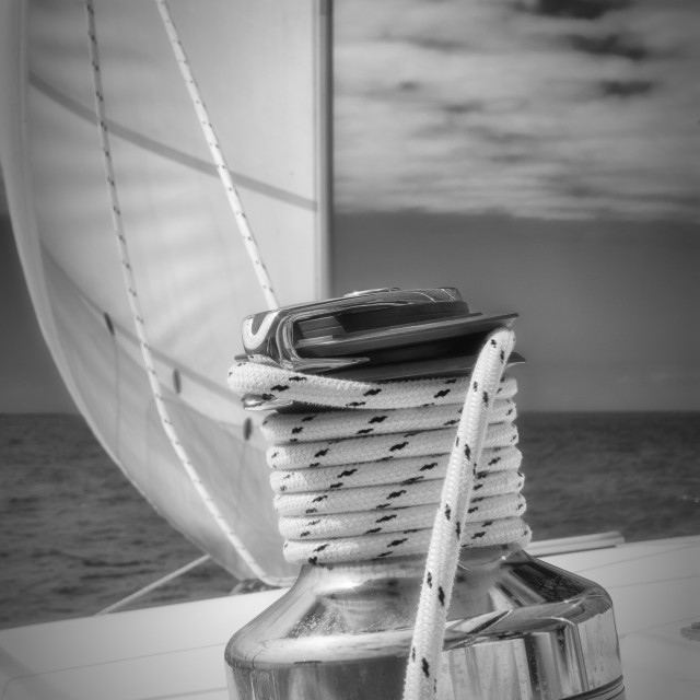 """Sailing."" stock image"