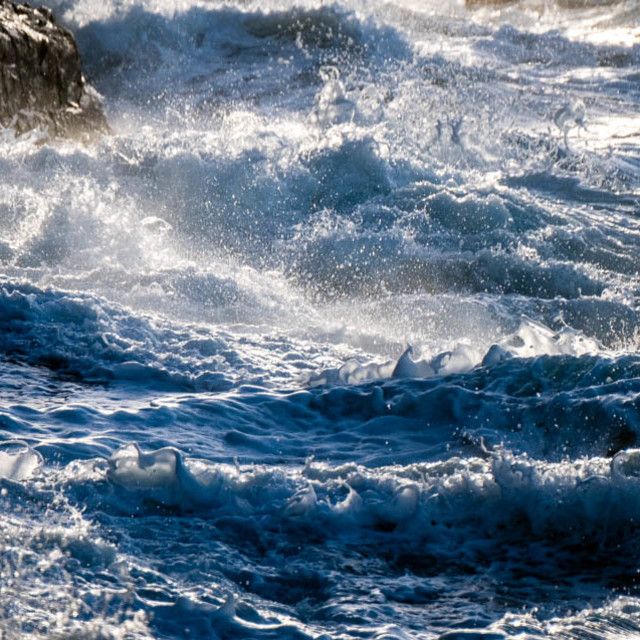 """Stormy Sea 1"" stock image"
