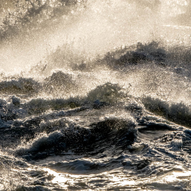 """Stormy Sea 2"" stock image"