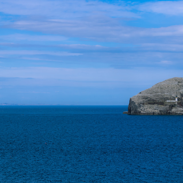 """""""The Bass Rock"""" stock image"""