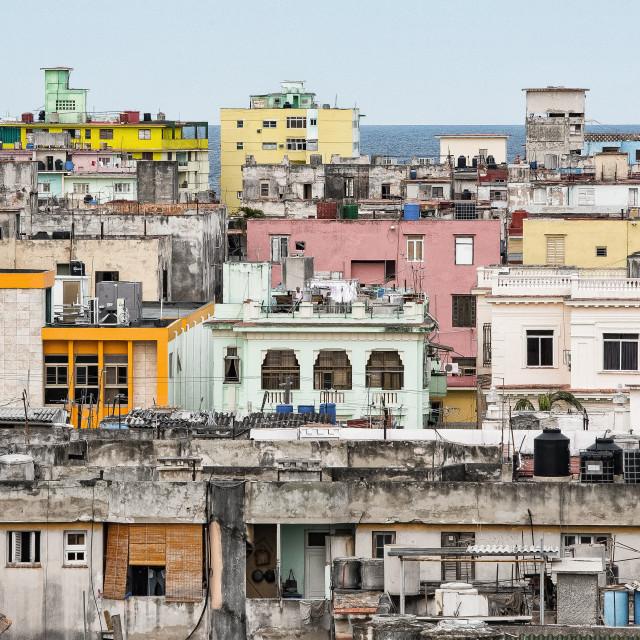 """Havana Vieja"" stock image"