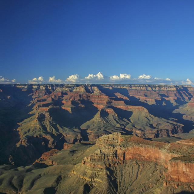 """Grand Canyon at sunset"" stock image"