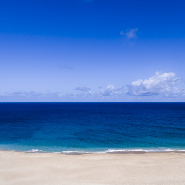 """Pristine Beach"" stock image"