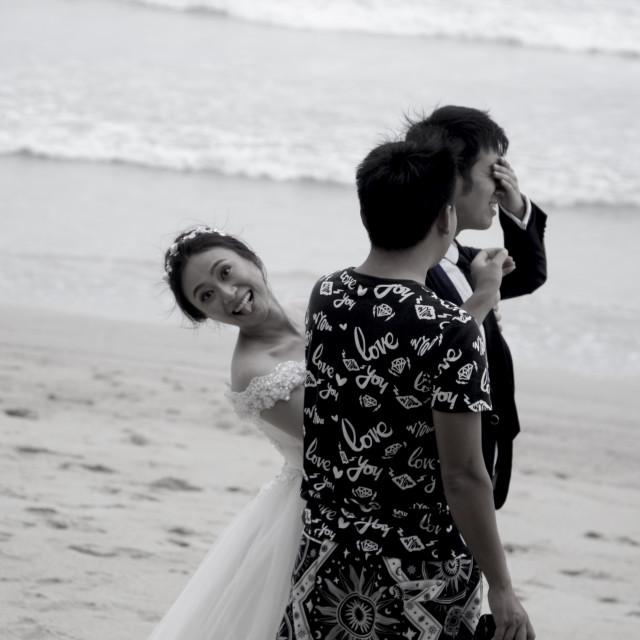 """""""wedding fun"""" stock image"""