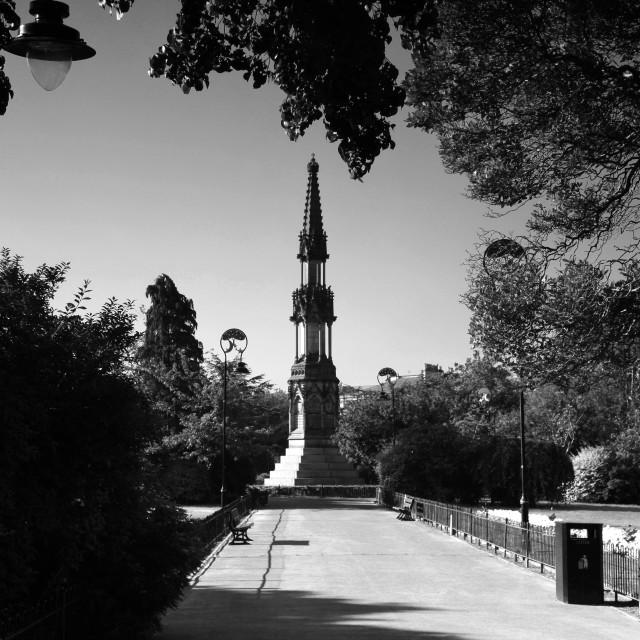"""""""Birkenhead War Memorial"""" stock image"""