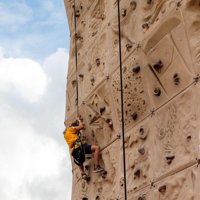 """Climb"" stock image"