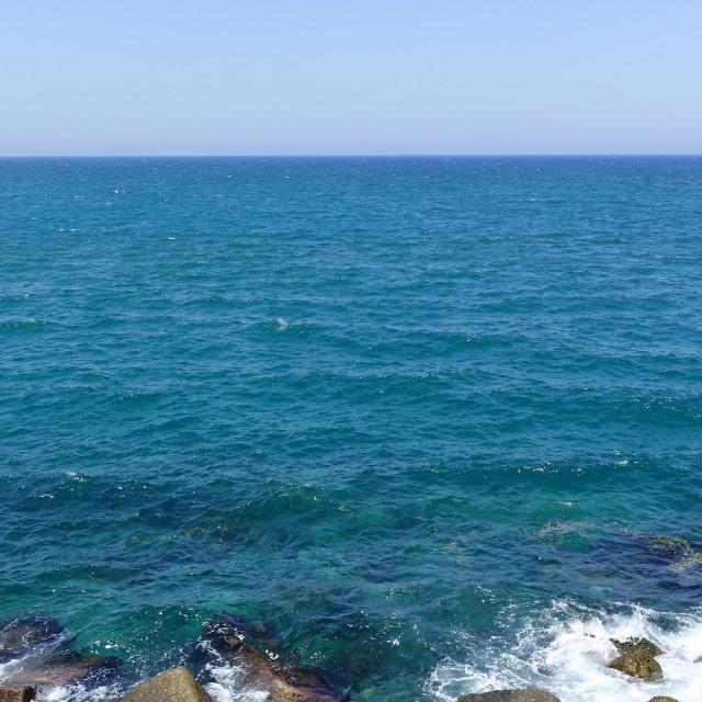 """Rocky seashore 2"" stock image"