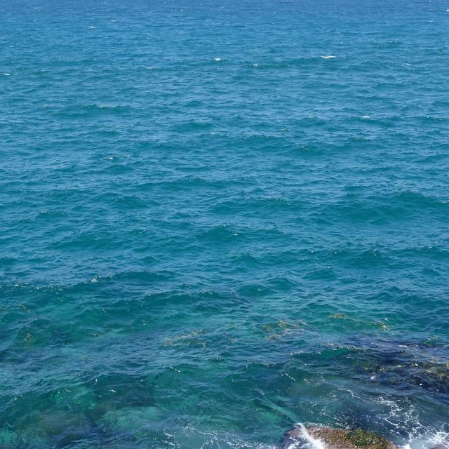 """Rocky seashore 3"" stock image"