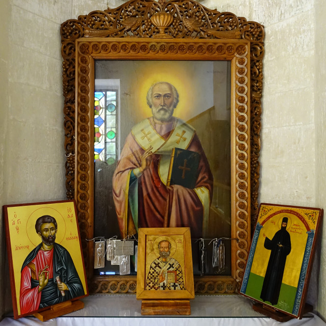 """Greek Orthodox Church Icons"" stock image"